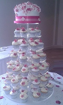 Introducing acrylic cupcake stands exclusively for celebrity wedding